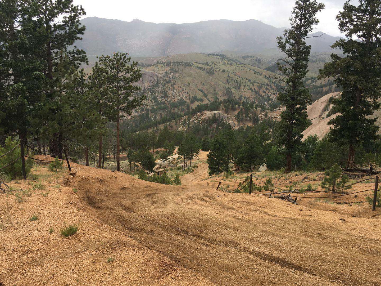 Metberry Gulch - Waypoint 4: Steep Gravel Hill