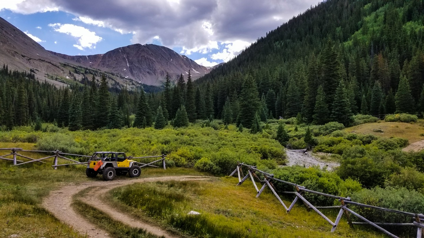 Highlight: Grizzly Gulch Road