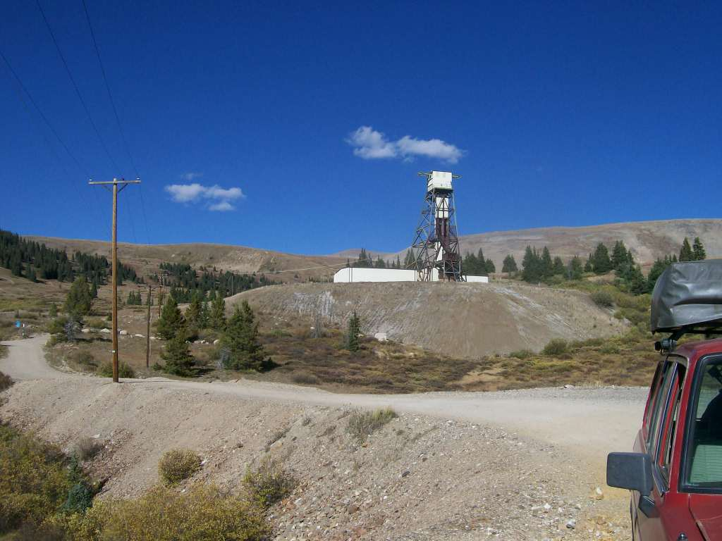 Mosquito Pass - Waypoint 12: End at Diamond Mine