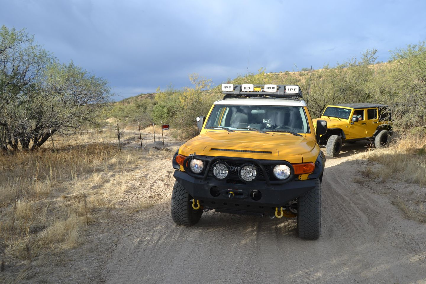 Charouleau Gap / FR# 736 - Waypoint 4: Private Road  - Gated Off