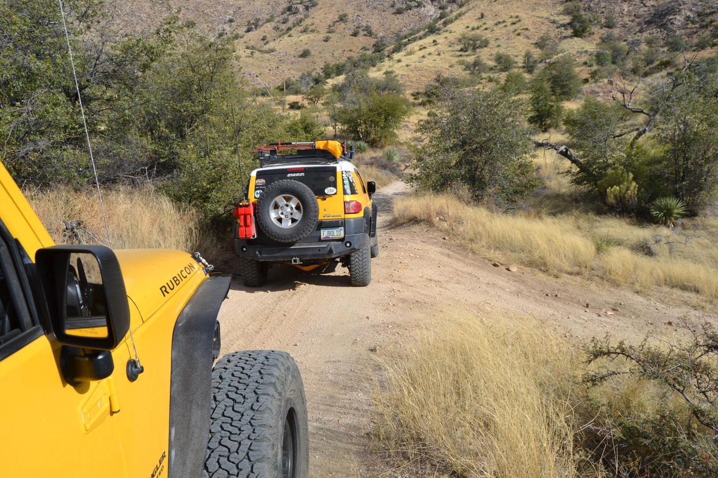 Charouleau Gap / FR# 736 - Waypoint 15: Unknown Road Camp Spot Likely Stay Left