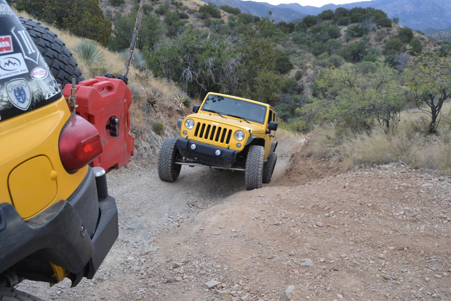 """Charouleau Gap / FR# 736 - Waypoint 29: Mine Access Road and Difficult Deep """"V"""" Hill Climb"""