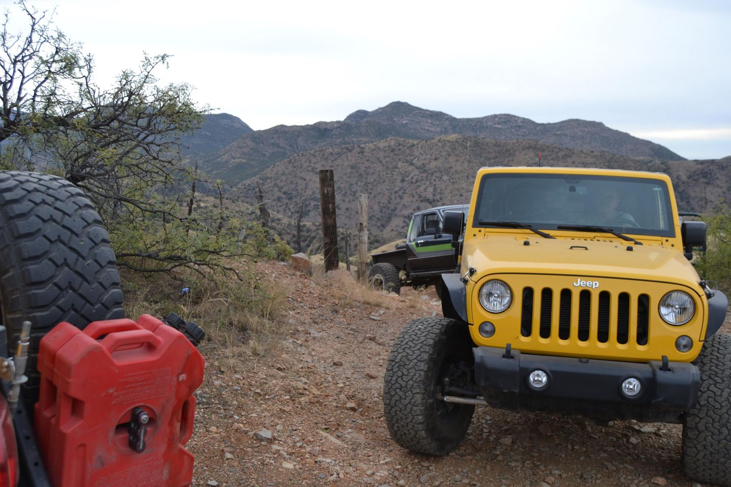 Charouleau Gap / FR# 736 - Waypoint 32: Gate At Top of Switchbacks