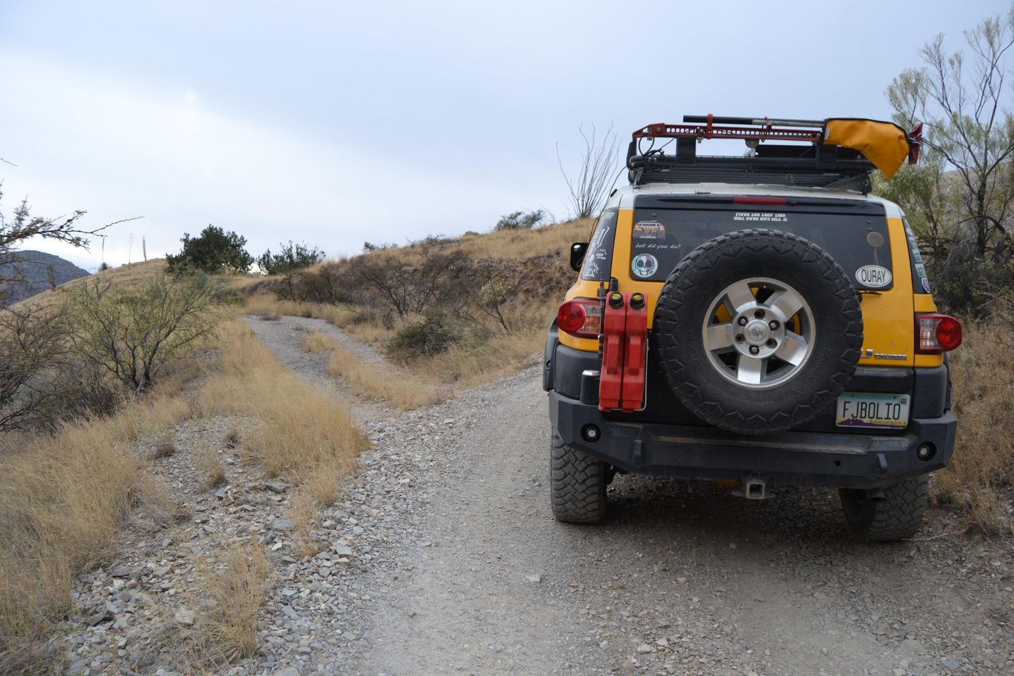 Charouleau Gap / FR# 736 - Waypoint 37: Unknown Road