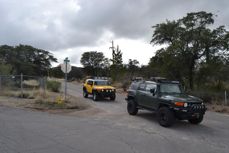 Charouleau Gap / FR# 736 - Waypoint 42: 3 -Way Fork  - Becomes N Estil Drive