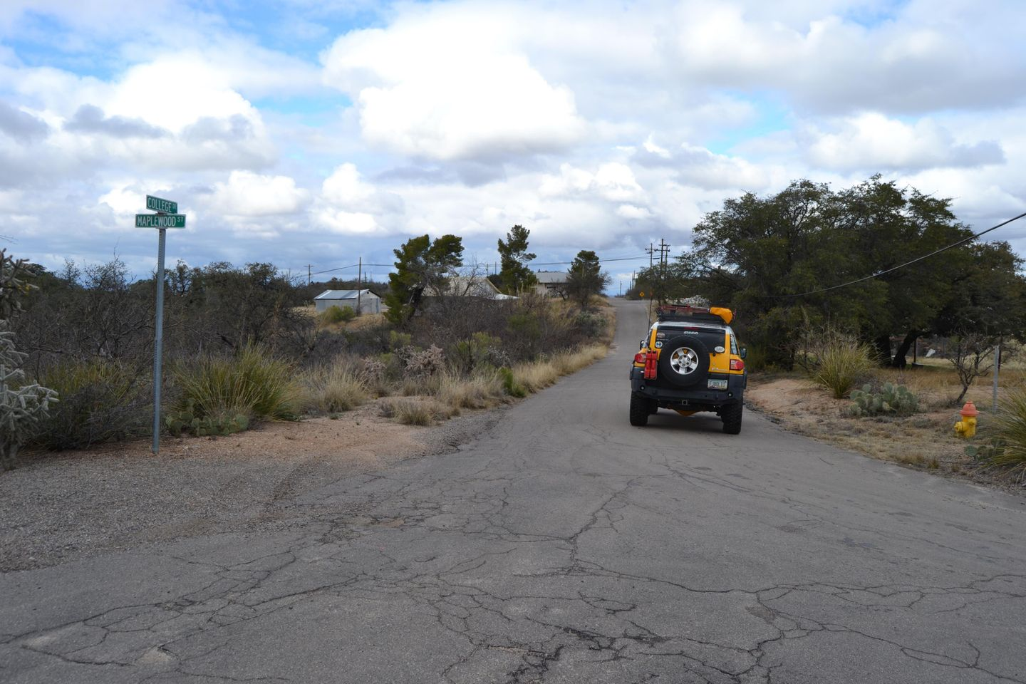 Charouleau Gap / FR# 736 - Waypoint 44: N College Dr  and W Maplewood Street