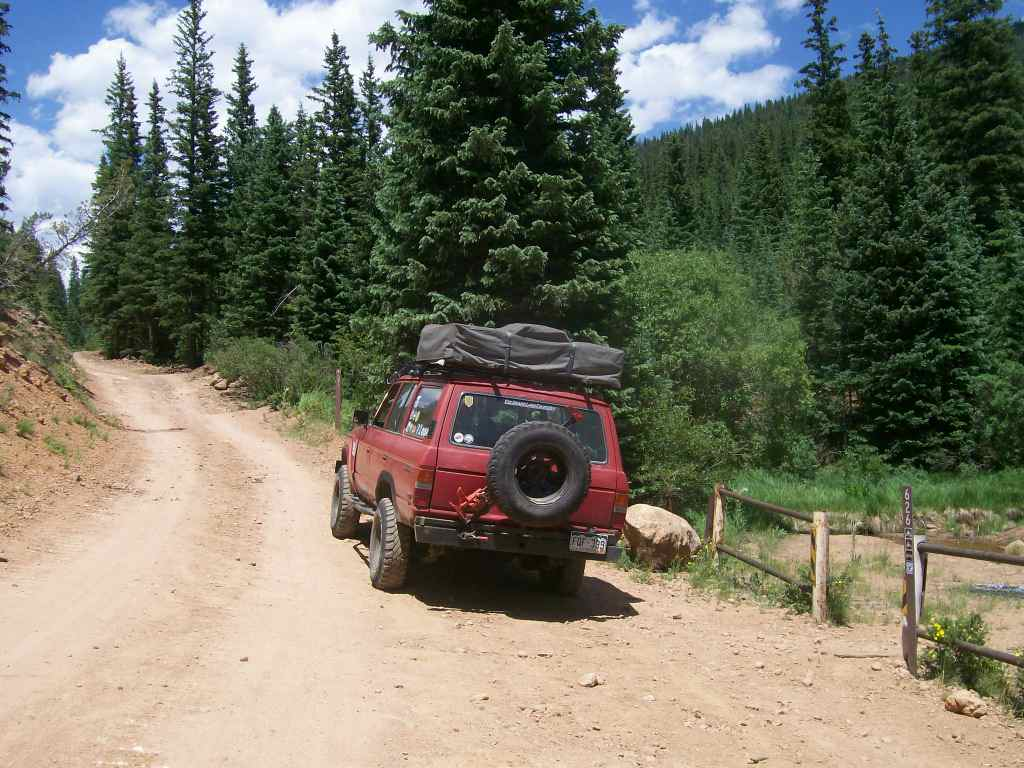 Mount Baldy - Waypoint 3: Intersection FS Road 626