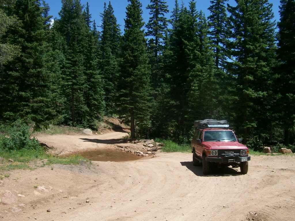 Mount Baldy - Waypoint 2: Stream Crossing