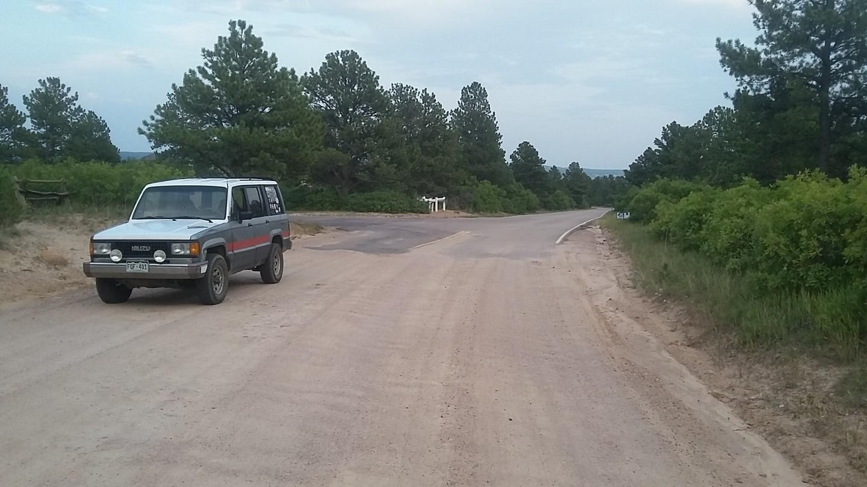 Mount Herman Road - Waypoint 1: Trailhead Mt Herman Road