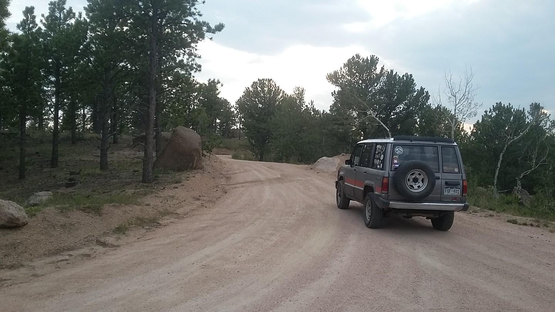 Mount Herman Road - Waypoint 3: Upper Gate - Go Straight