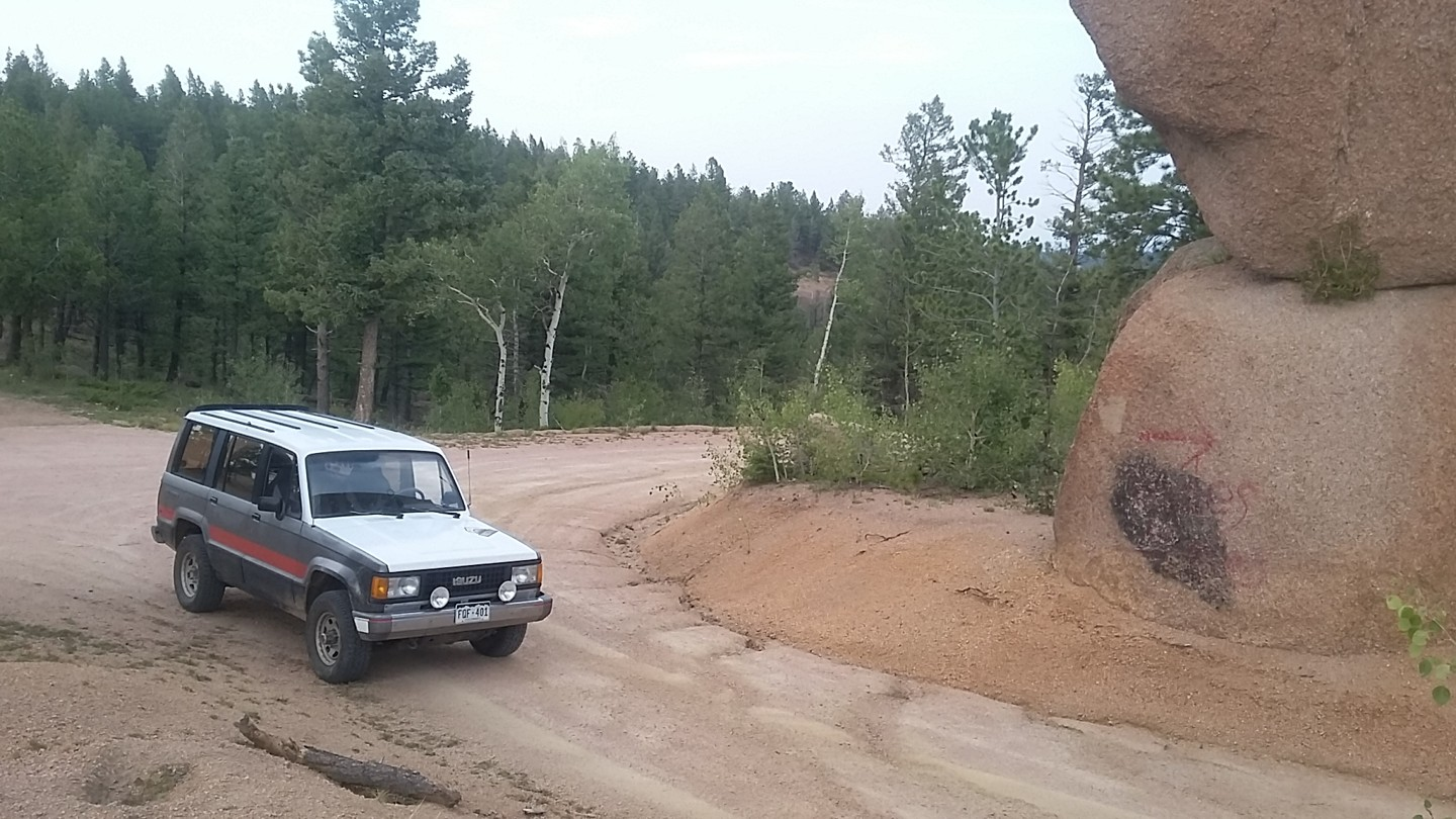 Mount Herman Road - Waypoint 4: Intersection 320B - Follow Curve to Left