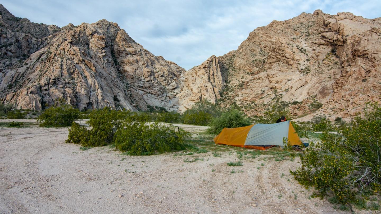 Camping: El Camino del Diablo