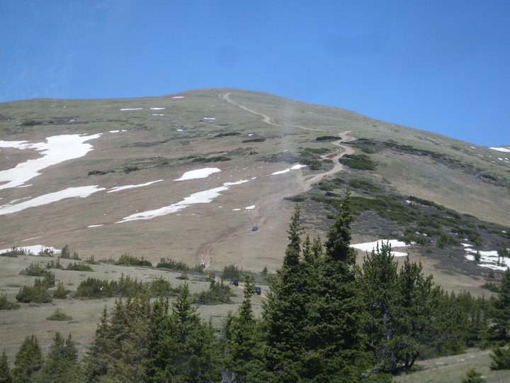 Red Cone - Waypoint 5: End of Tree Line