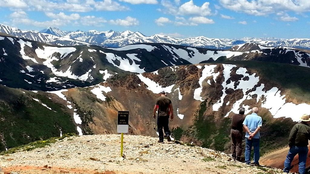 Red Cone - Waypoint 6: Red Cone Peak