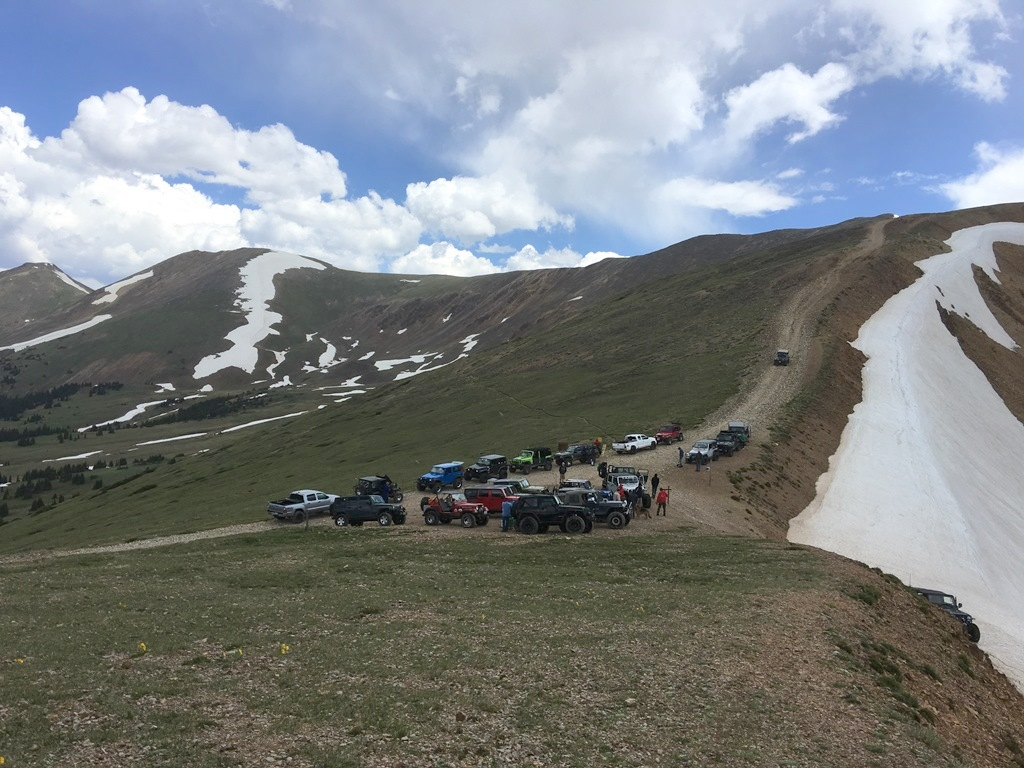 Red Cone - Waypoint 9: Merge with Webster Pass