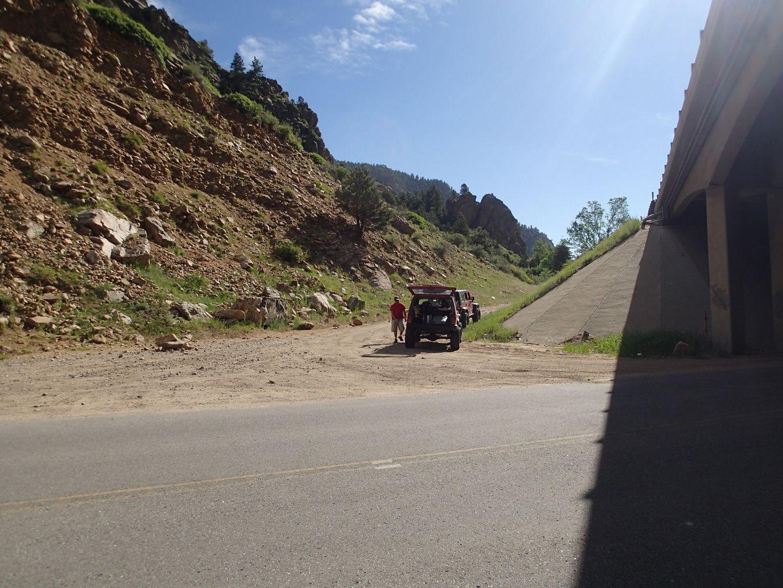 Red Elephant Hill - Waypoint 1: Trailhead