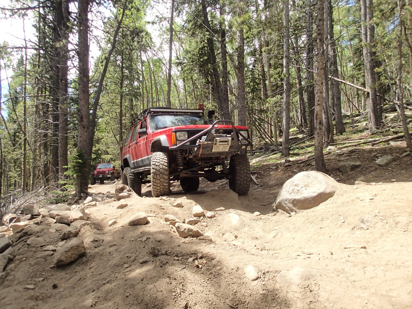 Red Elephant Hill - Waypoint 18: Obstacle