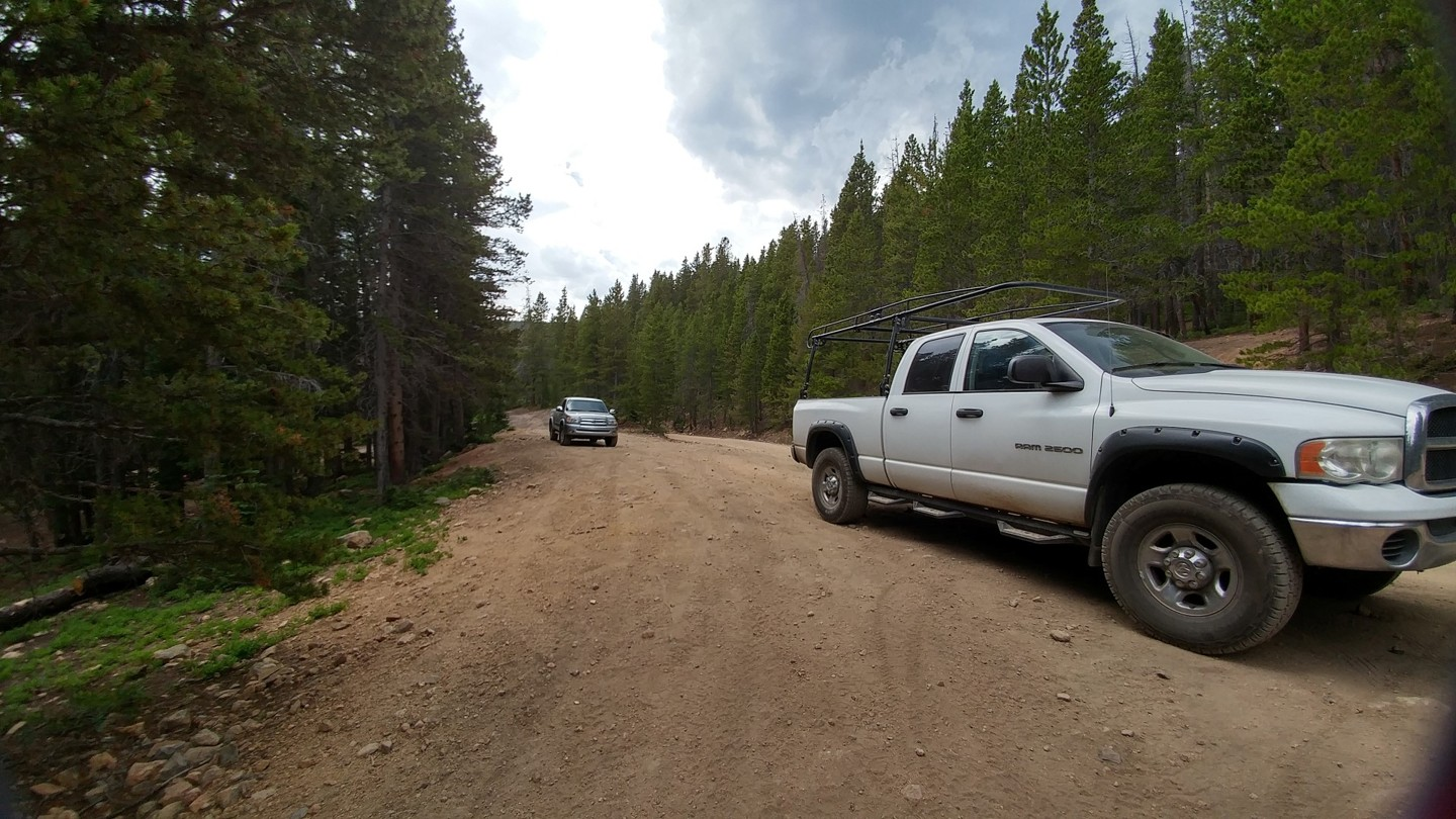 Rollins Pass East - Waypoint 6: Jenny Creek Trailhead