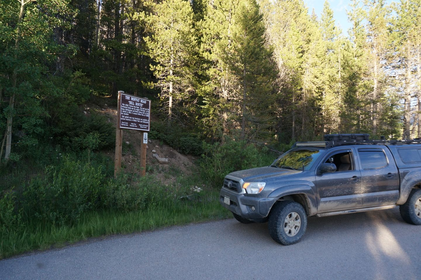Rollins Pass West - Waypoint 1: Trailhead