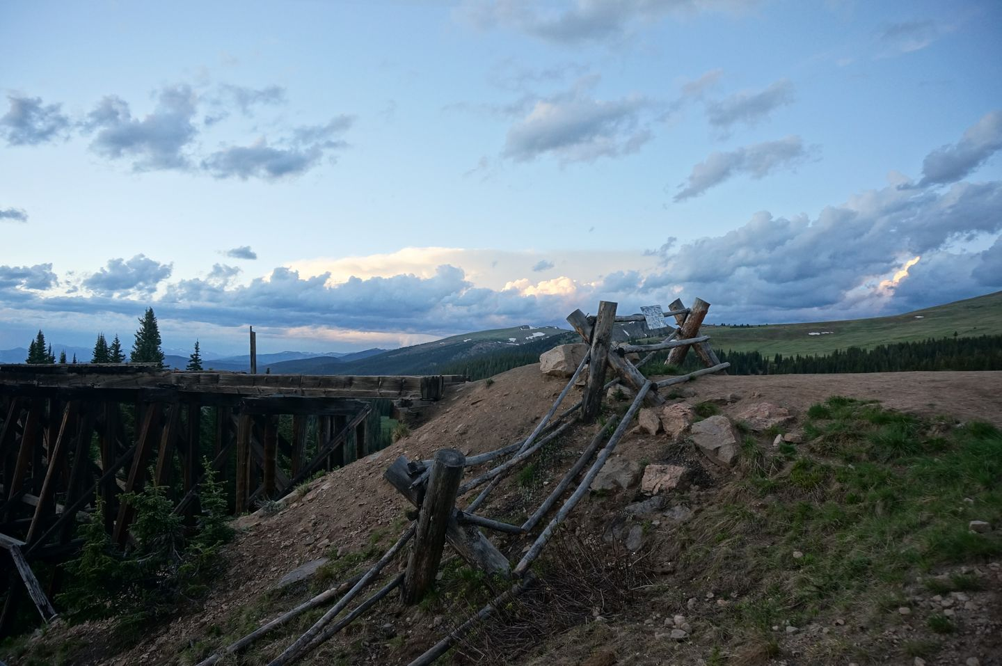 Rollins Pass West - Waypoint 6: Trestle