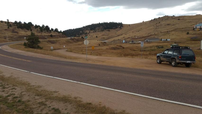 Shelf Road - Waypoint 1: Trailhead