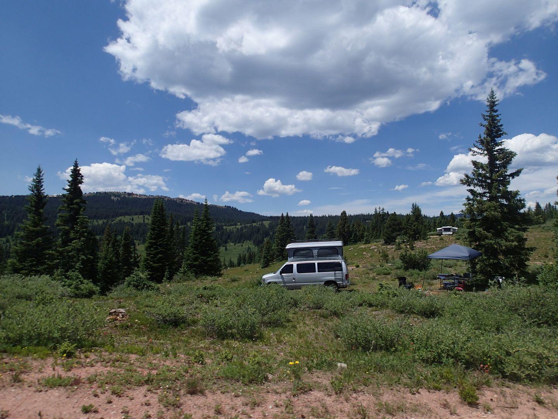 Camping: Shrine Pass