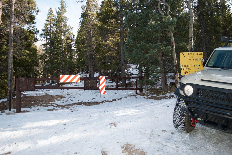 Slaughterhouse Gulch - Waypoint 6: Crow Creek cut-off