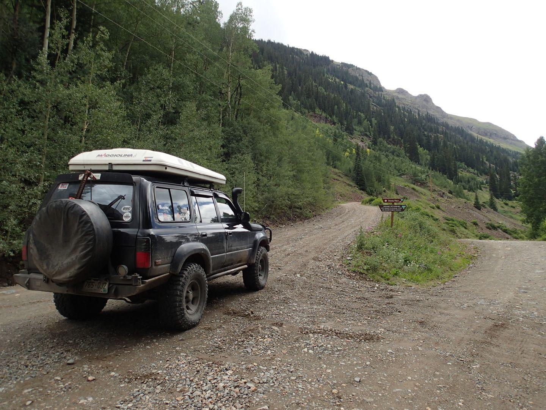 Stony Pass - Waypoint 1: Trailhead