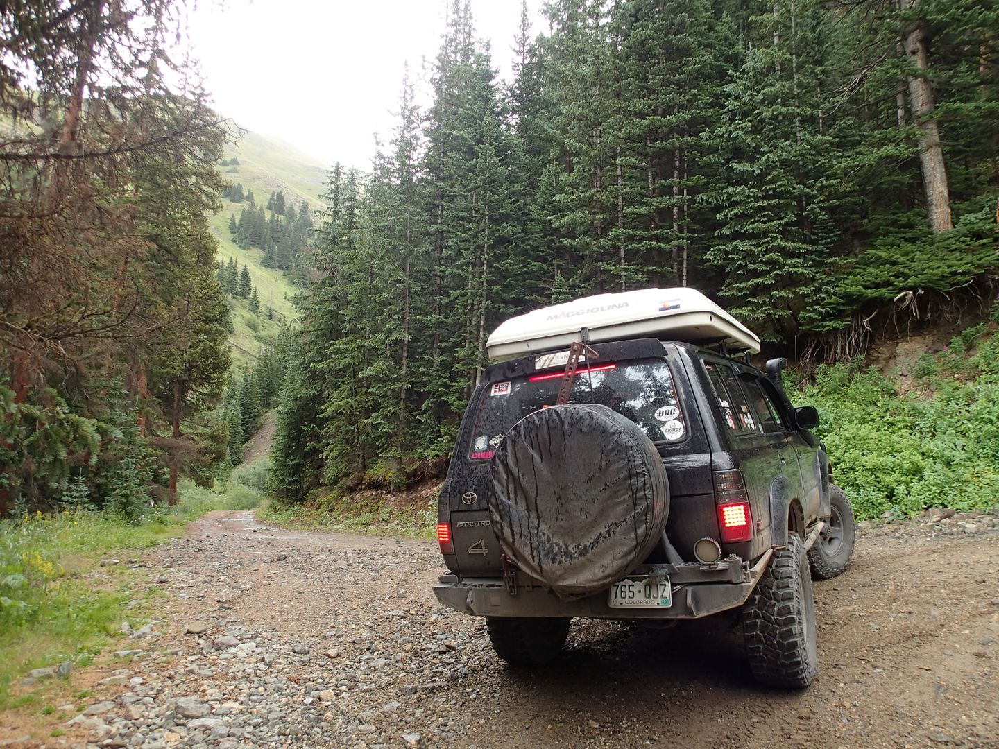 Stony Pass - Waypoint 4: Straight or Right Uphill