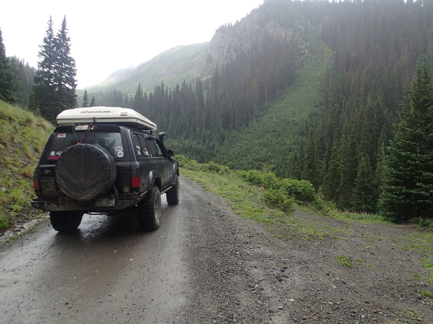 Stony Pass - Waypoint 8: Go Uphill and Unknown Road