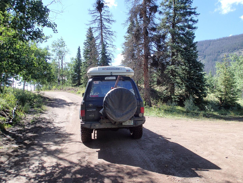 Stony Pass - Waypoint 24: Straight