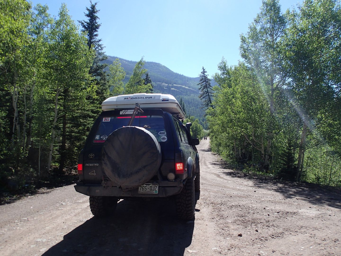 Stony Pass - Waypoint 27:  Lost Trail Campground