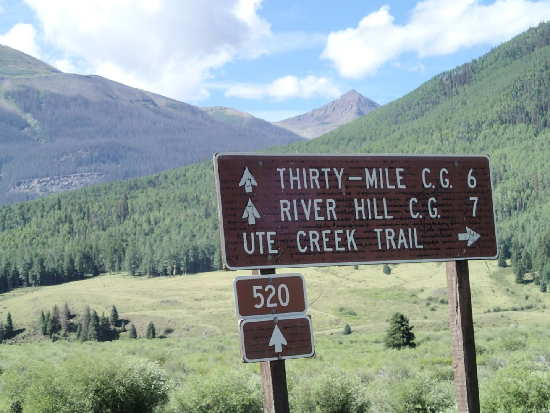 Stony Pass - Waypoint 29: Ute Creek Trail