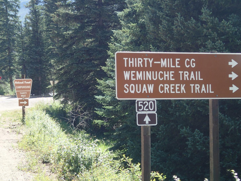 Stony Pass - Waypoint 34: Thirty Mile Campground