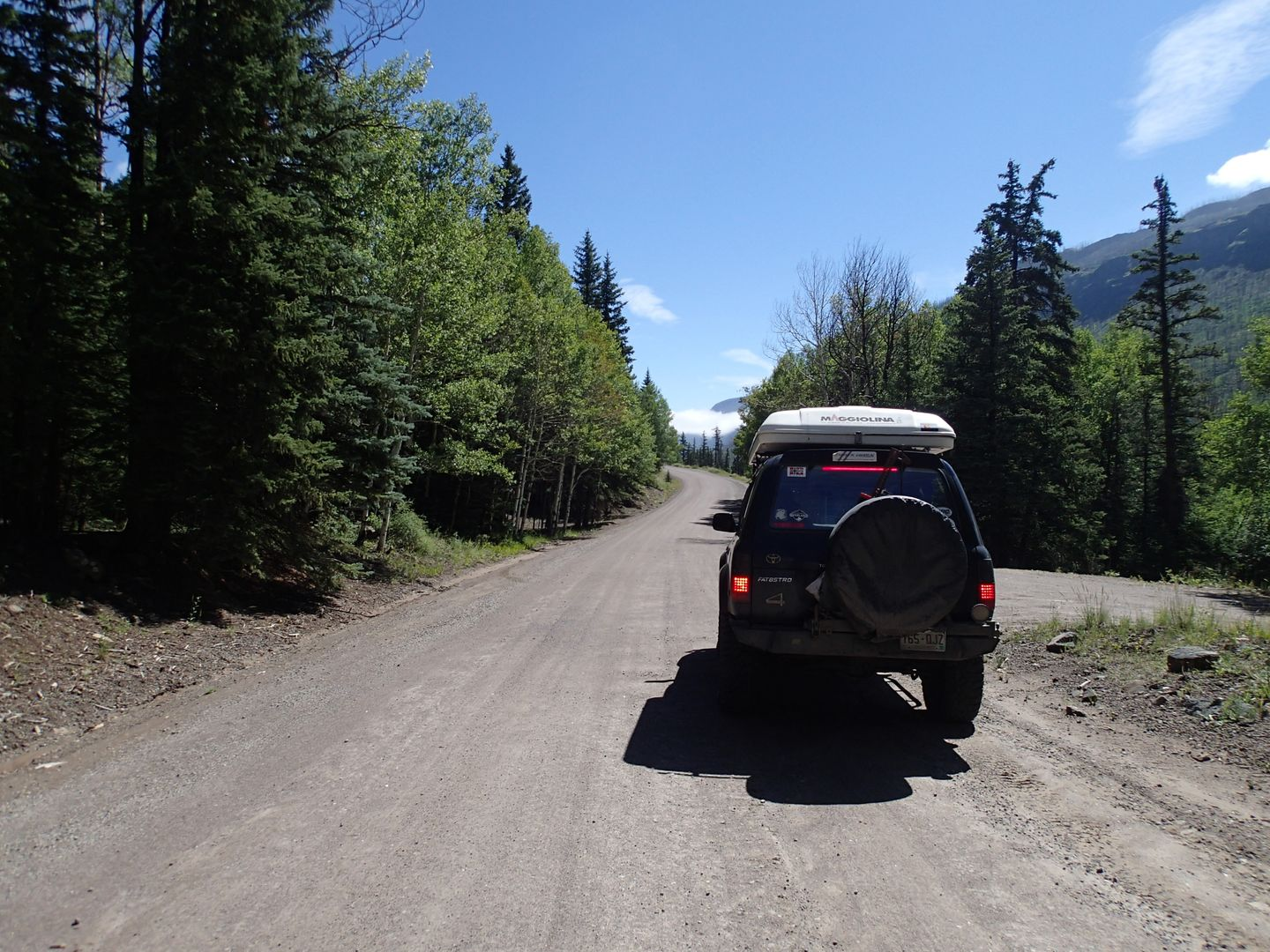 Stony Pass - Waypoint 35: River Hill Campground