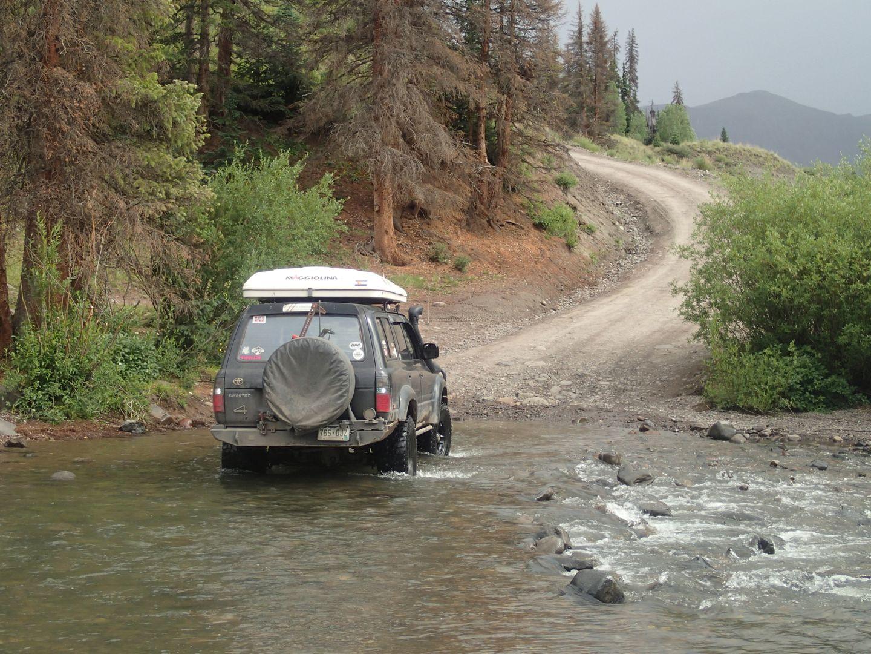 Stony Pass - Waypoint 13: Creek Crossing