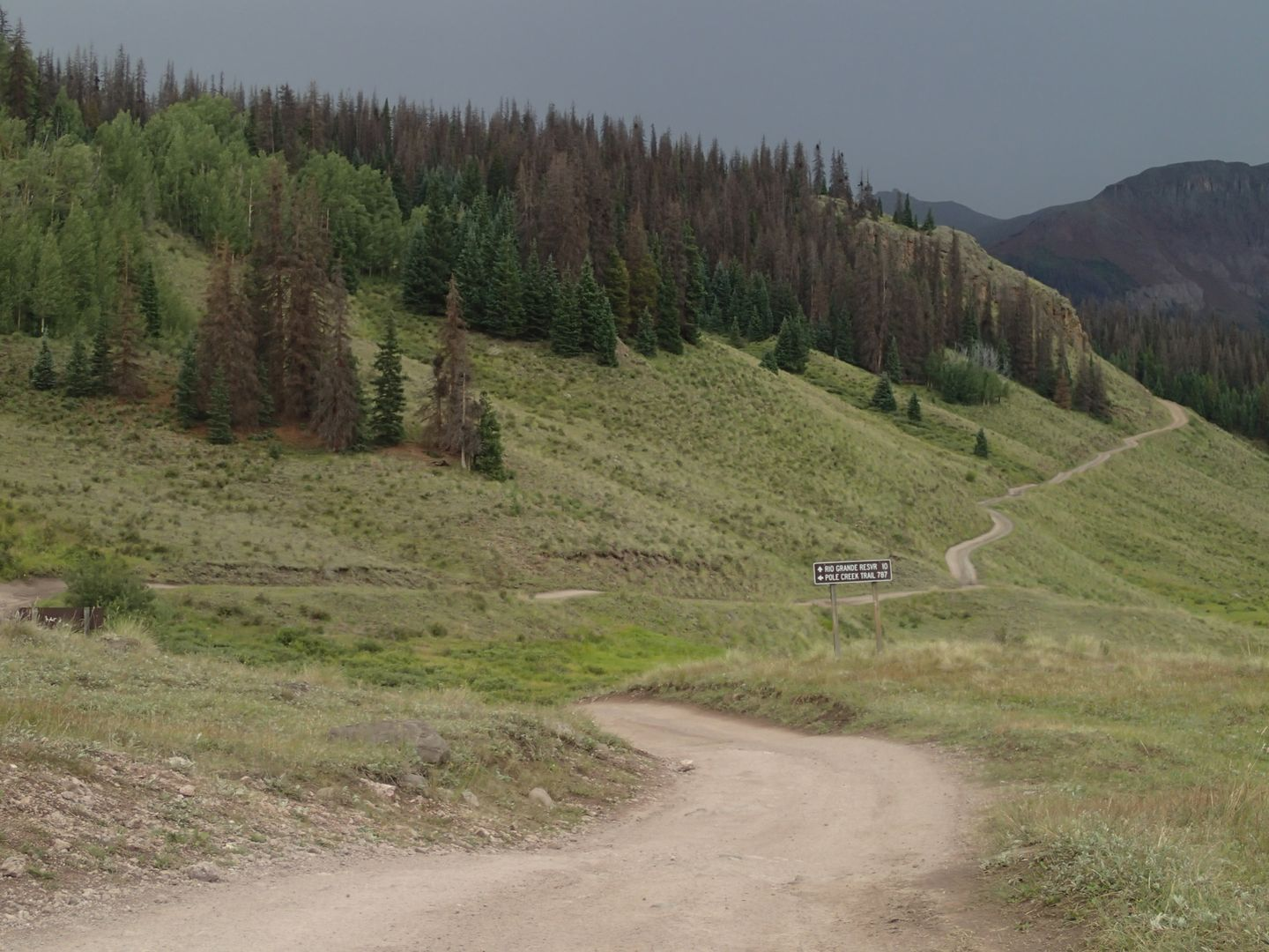 Stony Pass - Waypoint 14: Straight To Creede 520.4 and 506.1 to Kite Lake