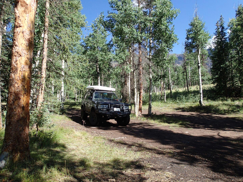 Stony Pass - Waypoint 22: Camping