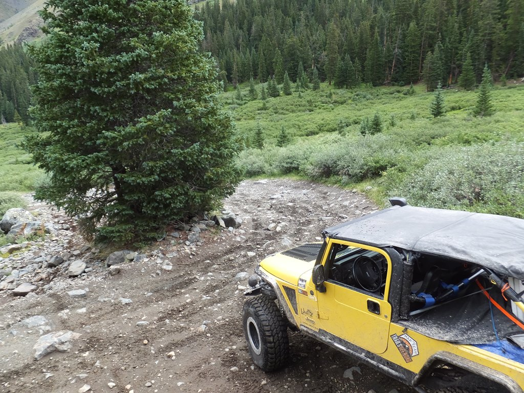 Tincup Pass - Waypoint 10: Return to Primary Route