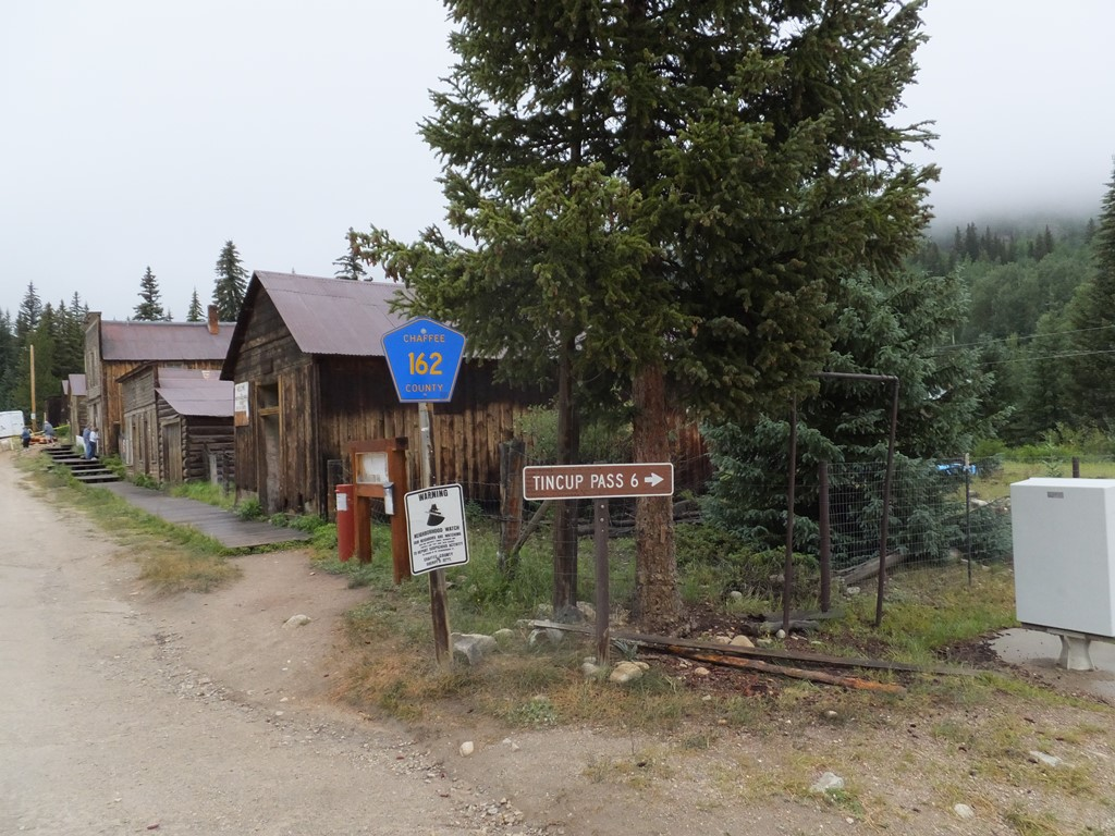Tincup Pass - Waypoint 2: Right at Sign to Tincup Pass