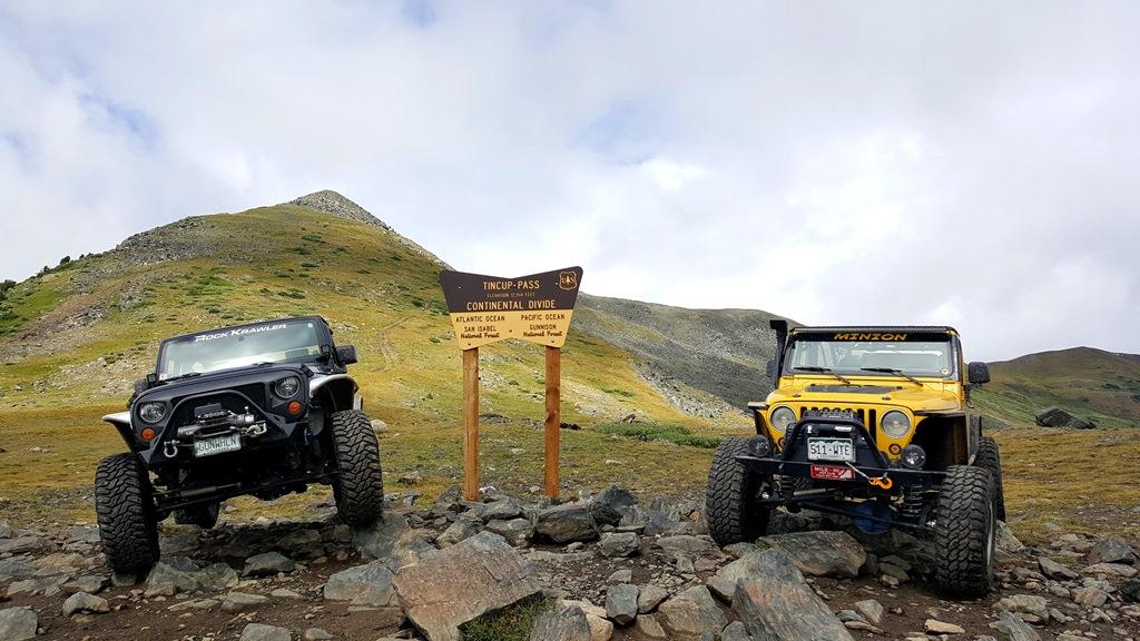 Tincup Pass - Waypoint 7: Tincup Pass