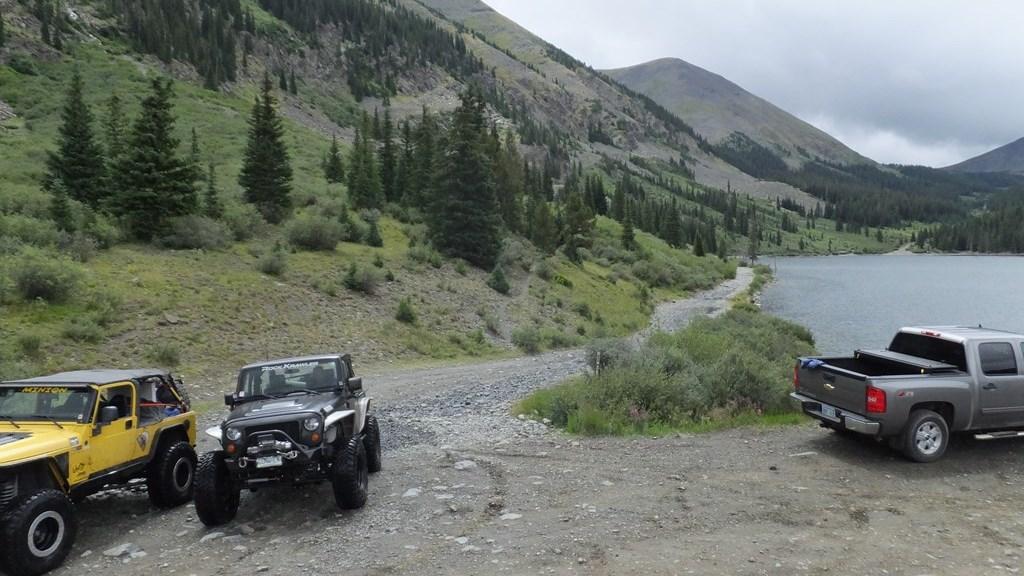Tincup Pass - Waypoint 11: Mirror Lake