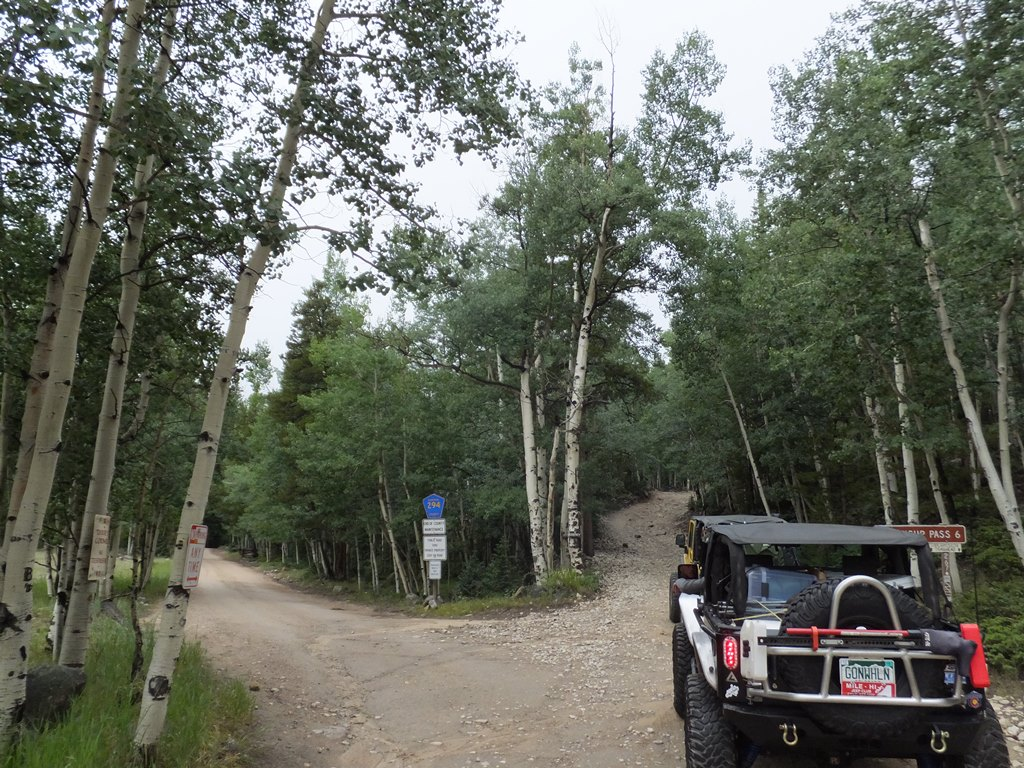 Tincup Pass - Waypoint 4: Start of Trail