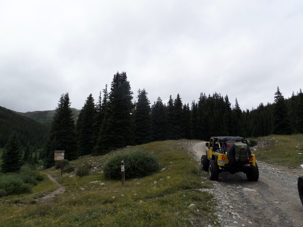 Tincup Pass - Waypoint 5: Cross the Colorado Trail