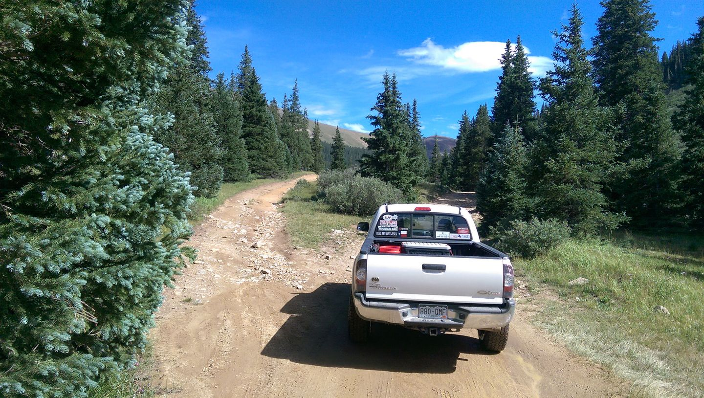 Webster Pass - Waypoint 5: Fork
