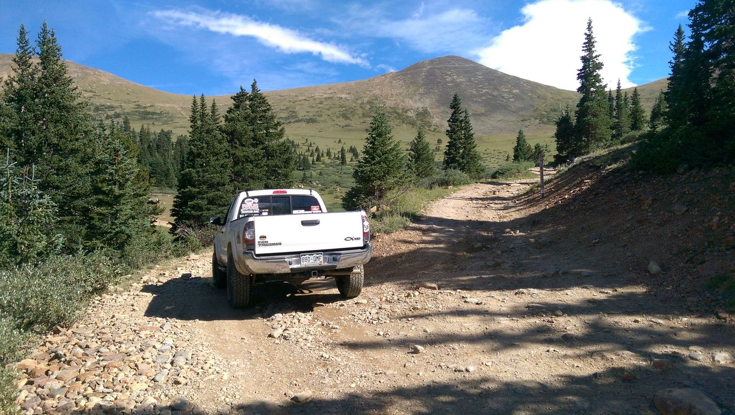 Webster Pass - Waypoint 7: Radical Hill
