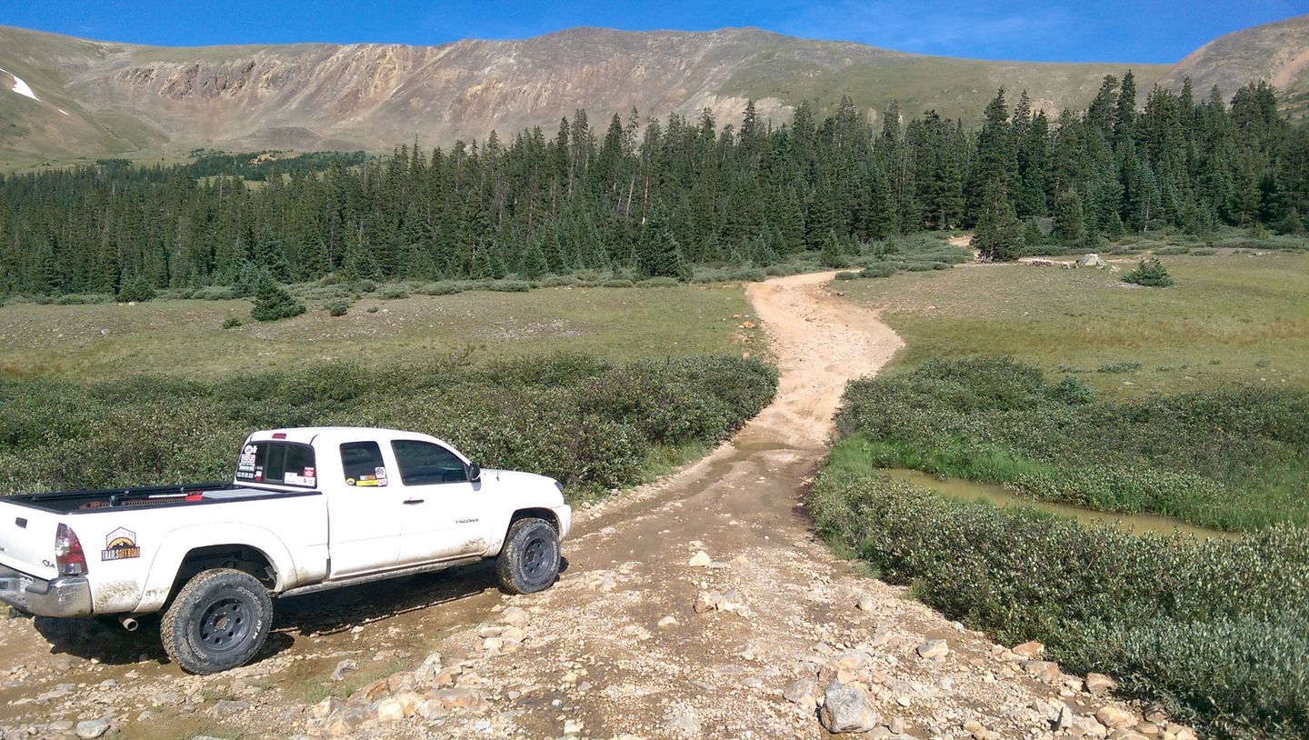 Webster Pass - Waypoint 8: Radical Hill