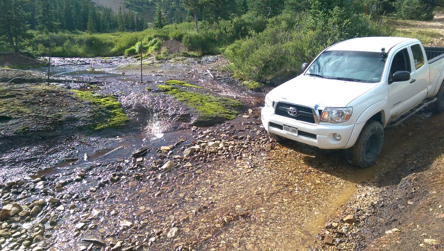 Webster Pass - Waypoint 13: Small Water Crossing