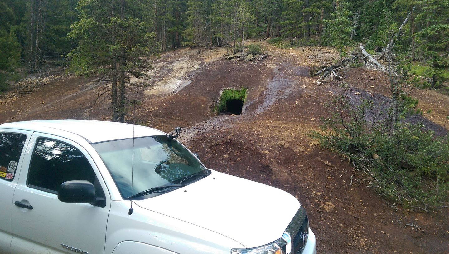 Webster Pass - Waypoint 14: Mine Outflow