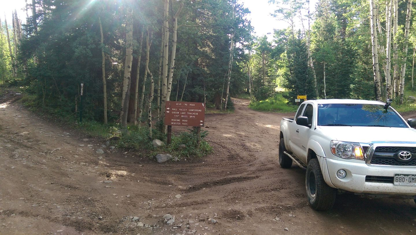 Webster Pass - Waypoint 16: Southern Trailhead